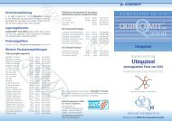 Ubiquinol - MSE Pharmazeutika GmbH