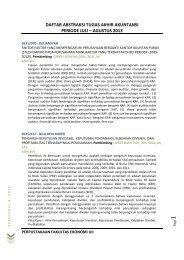 Program Studi Akuntansi - DIGITAL LIBRARY - FAKULTAS ...