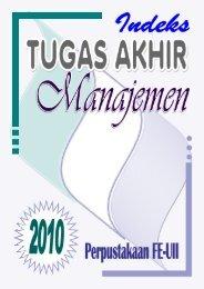 Manajemen - DIGITAL LIBRARY - FAKULTAS EKONOMI UII