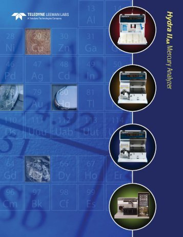 Hydra II AA Brochure - Teledyne Leeman Labs