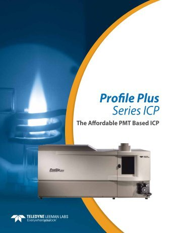 Profile Plus Brochure - Teledyne Leeman Labs