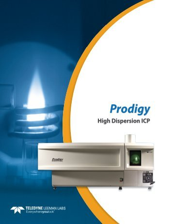 Prodigy Brochure - Teledyne Leeman Labs