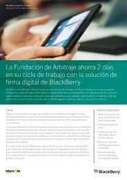 La Fundación de Arbitraje ahorra 2 días en su ciclo de trabajo con la ...