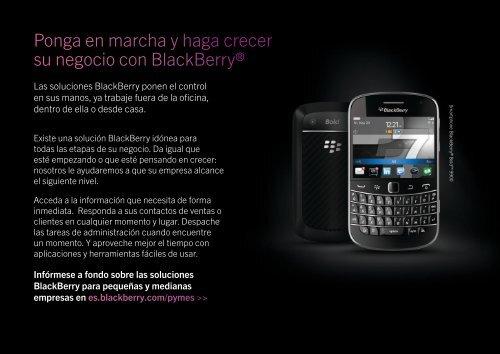 BlackBerry® para pequeñas y medianas empresas