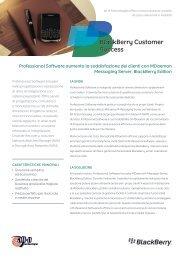 BlackBerry Customer Success - Professional Software