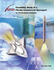 Feasibility of a Florida Commercial Spaceport - Futron Corporation