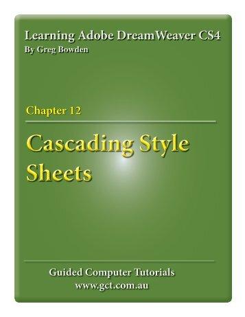 Cascading Style Sheets Cascading Style Sheets
