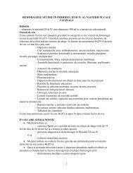 10.hemoragiile severe - filantropia.ro