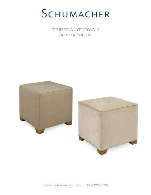 Remarkable Tribeca Ottoman Schumacher Pdpeps Interior Chair Design Pdpepsorg