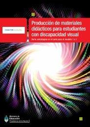 Producción de materiales didácticos para estudiantes con ...
