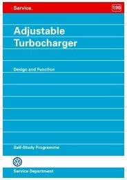 Self-Study Programme No.190 / Adjustable Turbocharger - Free