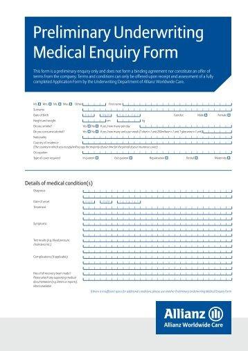 Medical Claim Bajaj Allianz Medical Claim Form