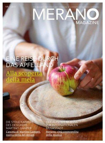 Merano Magazin Sommer 2015