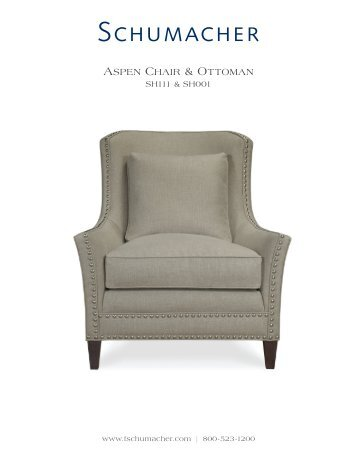 Aspen Chair SH111 - Schumacher