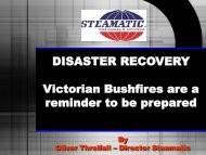 Disaster recovery: Victorian bushfires are a reminder to be prepared