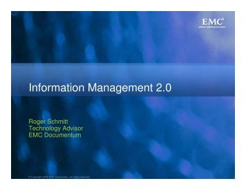 Information Management 2.0 - Records and Information ...