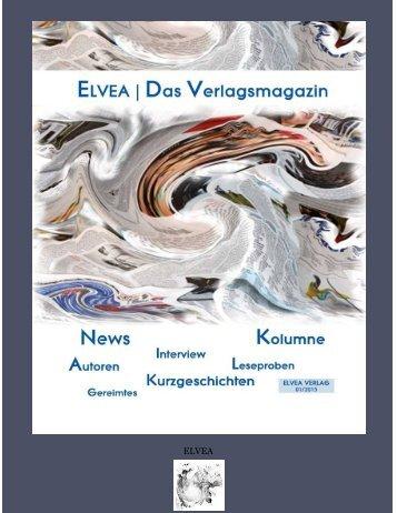 ELVEA | Das Verlagsmagazin - 01/2015