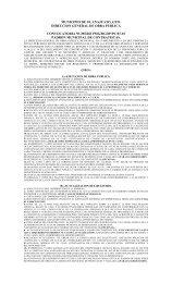 municipio de guanajuato, gto. direccion general de obra publica