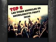 Las Vegas Bachelor Party Ideas