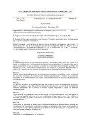 Reglamento de Mercados para el Municipio de Guanajuato _ago ...