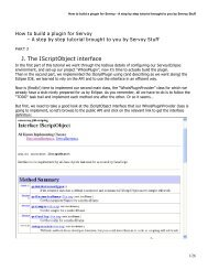 Step by step tutorial: how to build a plugin for Servoy - Servoy Stuff