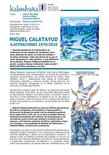 Miguel Calatayud Ilustraciones 1970-2010.pdf - Kalandraka