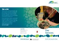 Day Services brochure - PDF