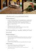 lämpökäsitellyn puun pintakäsittely sisällä ja ulkona - Lunawood - Page 3