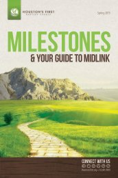 & your guide to midlink - Houston's First Baptist Church