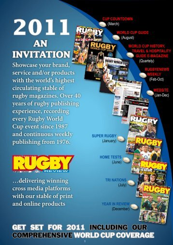 Rugby News & Review - MediaBizNet.com.au