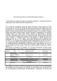 200701101628130.Acta de fallo de la licitacion No ... - Guanajuato