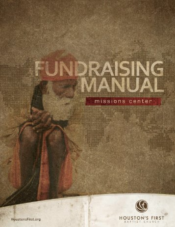 Fundraising Manual - Amazon Web Services