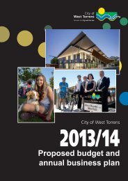 Budget and Annual Business Plan 2013-14 Proposed for community ...