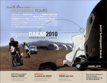 sigamosDAKAR2010 - SAMt