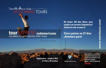 tourEXPRESOsudamericano - SAMt