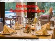 Arbeitstextilien Gastronomie & Hotelerie