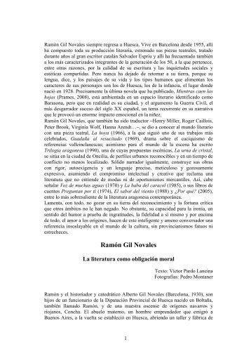 Ramón Gil Novales - Víctor Juan