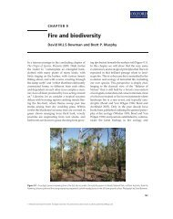 Fire and biodiversity - Society for Conservation Biology