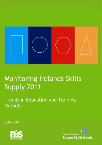 Monitoring Ireland's skills supply 2011 - FÁS