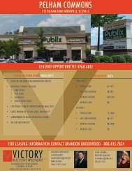 pelham commons - victory real estate investments llc