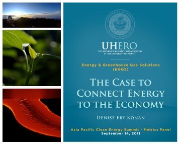 UHERO.HAWAII.EDU ©2011 September 14, 2011 - Clean ...