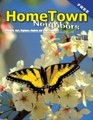 May 2012 - HomeTown Neighbors Magazine