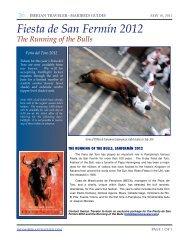 Fiesta de Sanfermín 2012 - Iberian Traveler