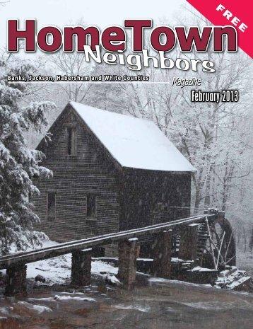 February 2013 - HomeTown Neighbors Magazine