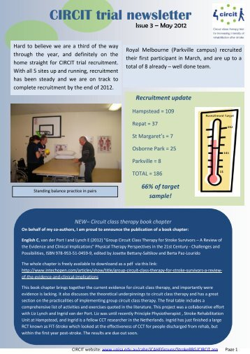 CIRCIT Newsletter May 2012
