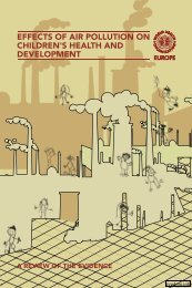 effects of air pollution on children's health and development - sygdoms