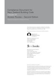 Compliance Document for New Zealand Building Code ... - sygdoms