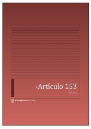 Artículo 153 - Aurora Mateos
