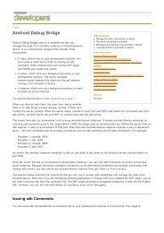 Android Debug Bridge - WoodWing Community Site