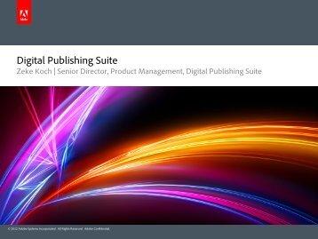 Digital Publishing Suite - WoodWing Community Site